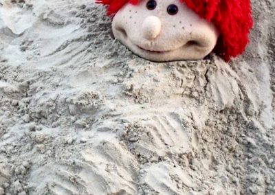Ulk am Strand